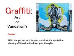Vandalism report writing